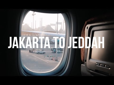 JAKARTA TO JEDDAH, SAUDI ARABIA VIA GARUDA INDONESIA (ECONOMY) | IT'S A 5-STAR AIRLINE!