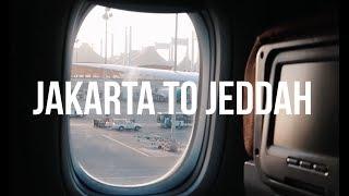 JAKARTA TO JEDDAH, SAUDI ARABIA VIA GARUDA INDONESIA (ECONOMY)   IT'S A 5-STAR AIRLINE!