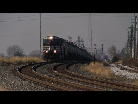 Trains on the Norfolk Southern Harrisburg Line Fall 2012 Winter 2013