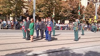 Homenaje Caídos acto Guardia civil Zaragoza