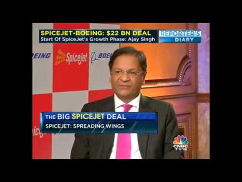 SPICEJET-BOEING: $ 22 BN DEAL. Have Many Options To Finance Deal: Ajay Singh