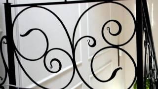 Кованые перила красивый узор ,ковка для лестницы металл(посмотреть http://kovka-dveri.com .Кованые перила красивый узор ,ковка для лестницы метал. Кованые перила красивый..., 2016-10-17T12:00:17.000Z)