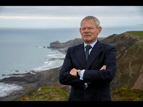 How old is Martin Clunes, who is the Doc Martin actor's wife Philippa Braithwaite and what is