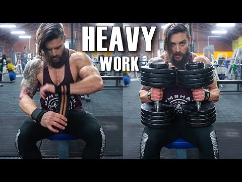 HEAVY TRAINING TECHNIQUE | CHEST & QUADS | THE LAUNCH! (Lean Machine Ep.11)