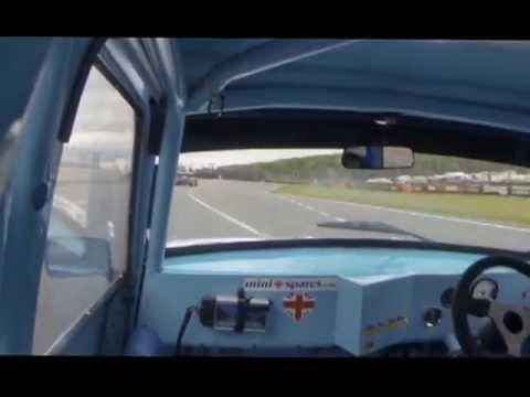 Brands Hatch Mini festival race 2 on board with bill richards