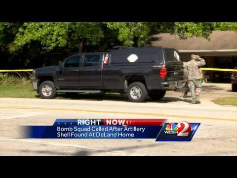 Artillery shell found at garage sale near deland youtube - Find nearest shell garage ...