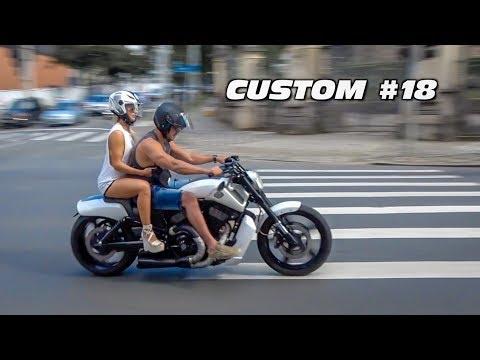 😎 CUSTOM #18 - Harley Davidson V-Rod, 883 Iron e + motos custom!