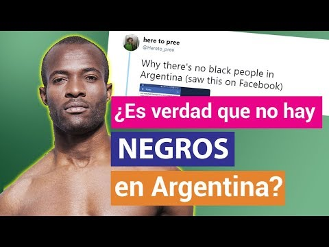 ¿Por qué NO HAY NEGROS en ARGENTINA? - TKM Explica