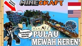 Yuk.. TOUR KOLAM RENANG KEREN SAMA ORANG AMERIKA! - Minecraft Map: WATERPARK