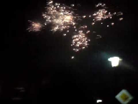 Feuerwerk 2008/2009 Silvester