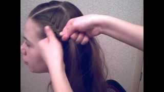 видео Как сделать бантик из волос — техника плетения, уроки и рекомендации