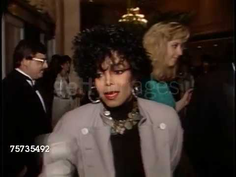 (1988) Janet Jackson at the American Cinema Awards