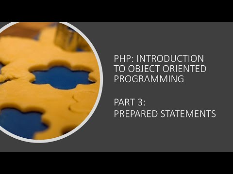Object Oriented Programming With PHP - Part 3: Prepared Statements