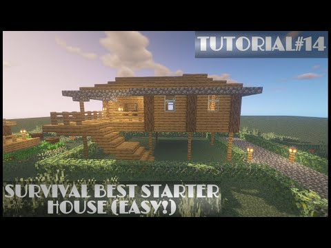 Minecraft: How to Build the Best Survival House (EASY!)