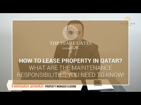 Fundamentals of leasing property and maintenance responsibilities in Qatar