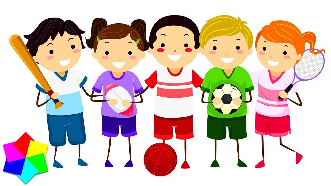 Картинки по запросу детские спортивные анимашки