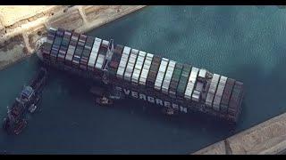 Canal De Suez : Le Cargo ''Evern-Given'' Risque D'engendrer Des Pertes économiques Au Sénégal
