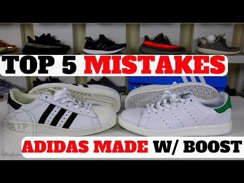 bd0b21a0f737 Смотреть видео Adidas BOOST Hype Dead  5 MISTAKES Adidas Made With BOOST  онлайн