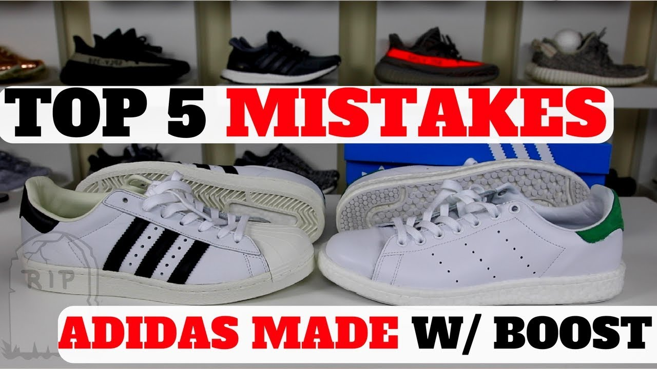 ff8b7e342ed9 Adidas BOOST Hype Dead  5 MISTAKES Adidas Made With BOOST - YouTube