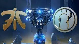 Mundial 2018: Fnatic x Invictus Gaming (Jogo 3 - Desempate)   Fase de Grupos - Dia 8
