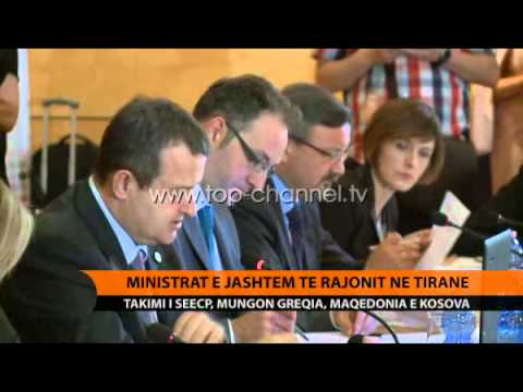 SEECP mbledh ministrat e Jashtëm të rajonit në Tiranë - Top Channel Albania - News - Lajme