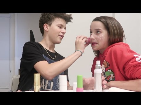 Thumbnail: The Mostly Bloopers Makeup Video | Annie LeBlanc