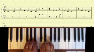 A Little Night Music -- Mozart -- beginner piano -- by Marcos Levy