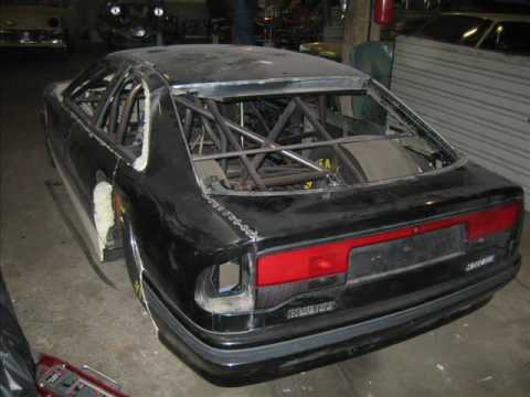 Renault Safrane Biturbo Dragrace Project.