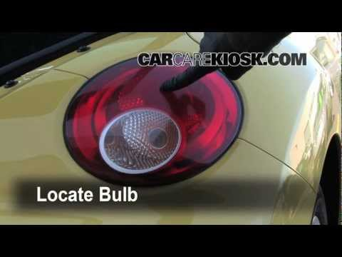 Headlight and Tailight How To Preview on a 2008 VW New Beetle