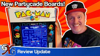 PacMan Arcade1Up Partycade NEW BOARDS! | Is The Problem Solved?