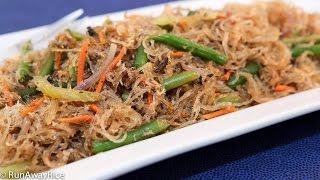 Baked Bean Thread Noodles with Crab (Mien Xao Cua Dut Lo)