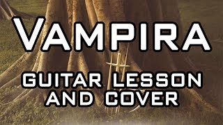 Devin Townsend - Vampira Guitar Cover and Lesson