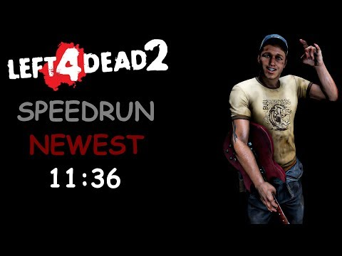 Left 4 Dead 2 Solo Realism Expert Speedrun 11:36 Dead Center