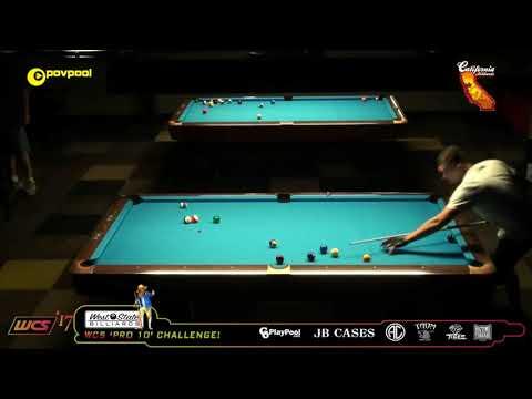 #1 Shane VanBOENING vs Billy THORPE / 2017 WCC One Pocket