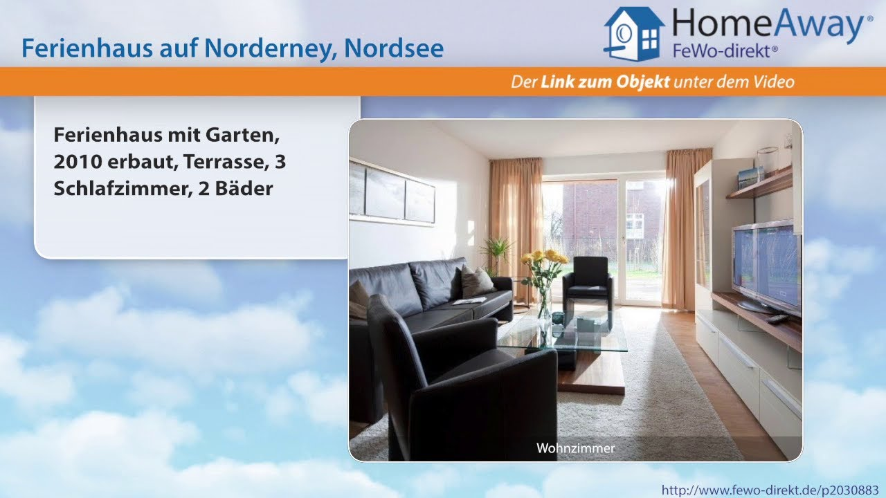 Norderney: Ferienhaus mit Garten, 2010 erbaut, Terrasse, 3 ...