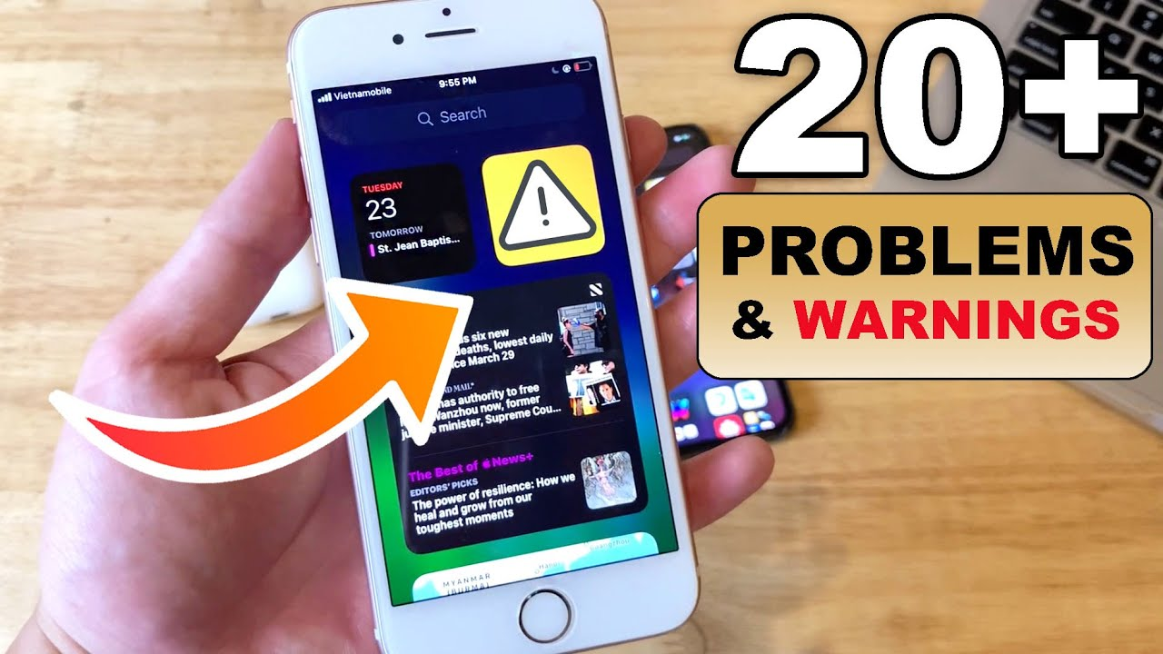 Ios 14 Beta 1 20 Bugs Problems Found Wait Before You Update Youtube