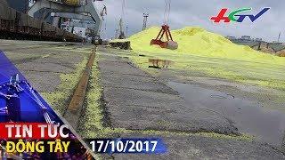40.000 tấn lưu huỳnh trôi dạt cảng Hải Phòng | TIN TỨC ĐÔNG TÂY - 17/10/2017