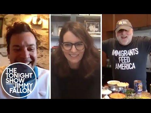 The Tonight Show: At Home Edition (Tina Fey, José Andrés)