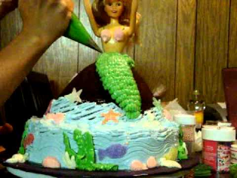 Little mermaid cake YouTube