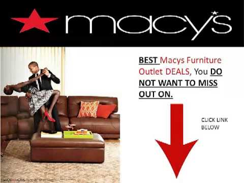 Macys Furniture Outlet NJ YouTube