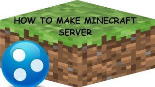 how to make a minecraft server (hamachi) 2019