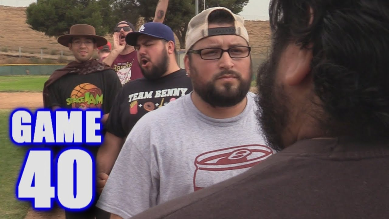 loser shaves  beard misses  playoffs  season softball league game  youtube