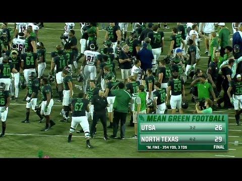 North Texas Football: UTSA vs North Texas Recap 10/14/17