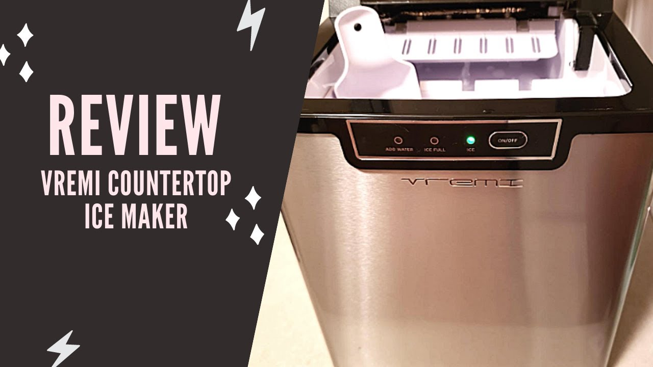 Vremi Countertop Ice Maker Review 2020 Vremi Countertop Ice Maker Manual Instructions Youtube
