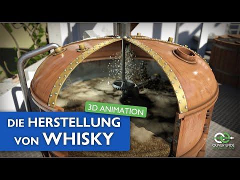 Die Herstellung von Whisky - 3D Animation von Oliver Ende