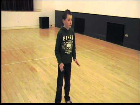 cian mulhall aged 11 singing imagine