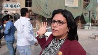 بالفيديو : النائبة : منى جاب الله بشارع المعز :