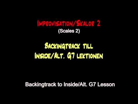 Backing track / Inside/Alt. G7