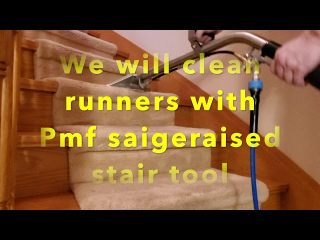 How to clean carpets with agitating tools - Job done by Amna cleaning service