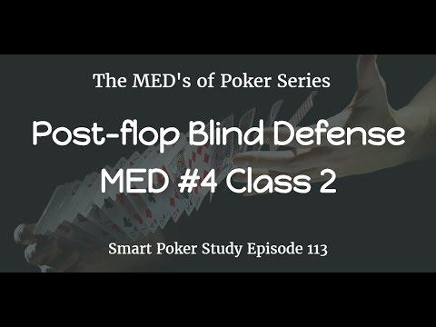 Post flop Blind Defense & Leaks Poker Podcast #113